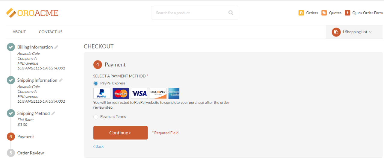PayPal Express Checkout for OroCommerce - Oro Marketplace